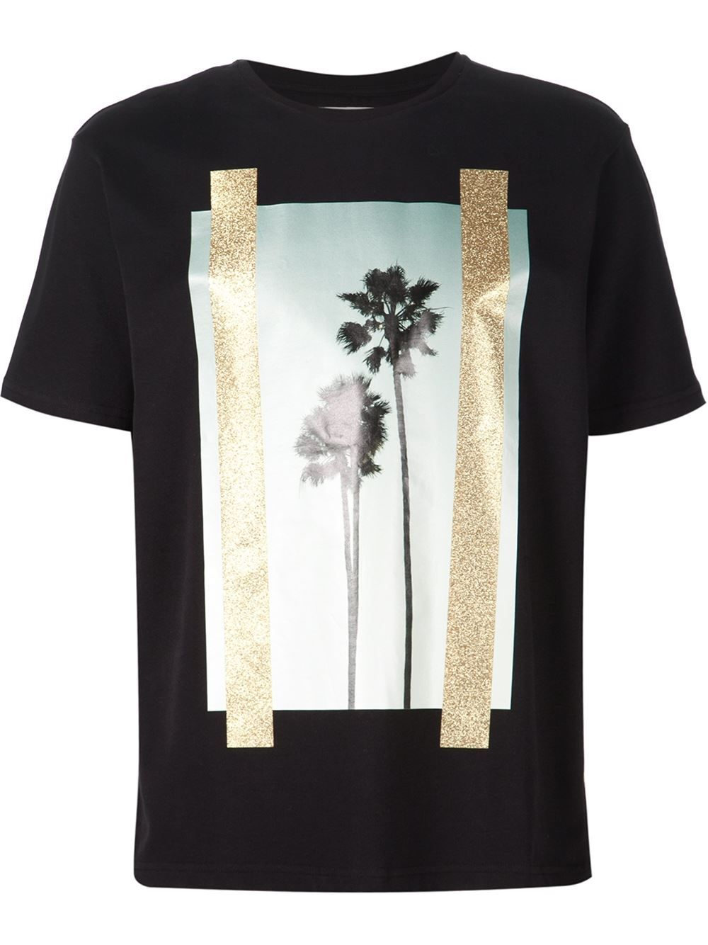 2bbefcd825b Palm Angels Palm Tree Print T-shirt - Minetti - Farfetch.com