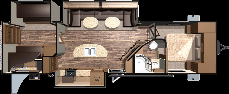 Light LT308BHS Floorplan
