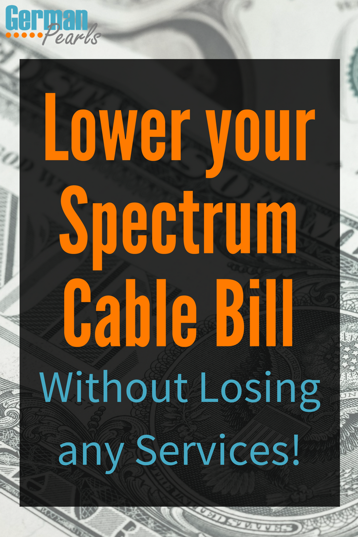 How To Lower Your Monthly Spectrum Cable Bill
