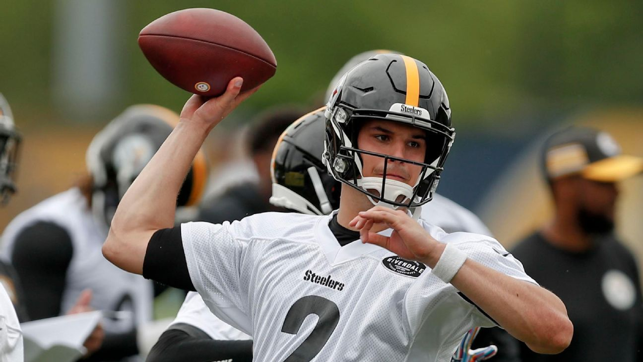 Steelers' Mason Rudolph making most of firstteam reps