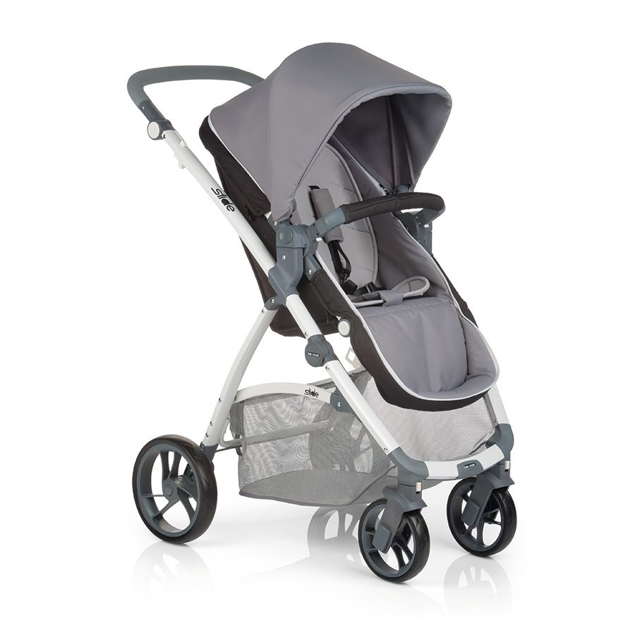 Be Cool Slide Pram Amp Top Carrycot Argento Out And