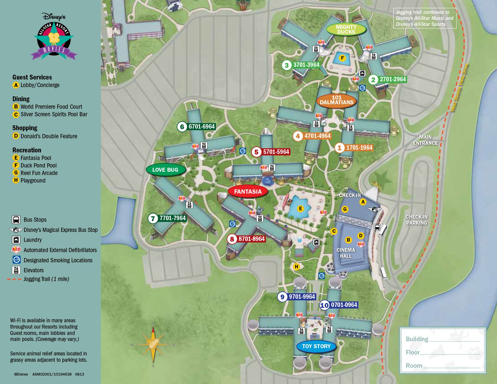 Star Movies Resort Map Disney World Maps