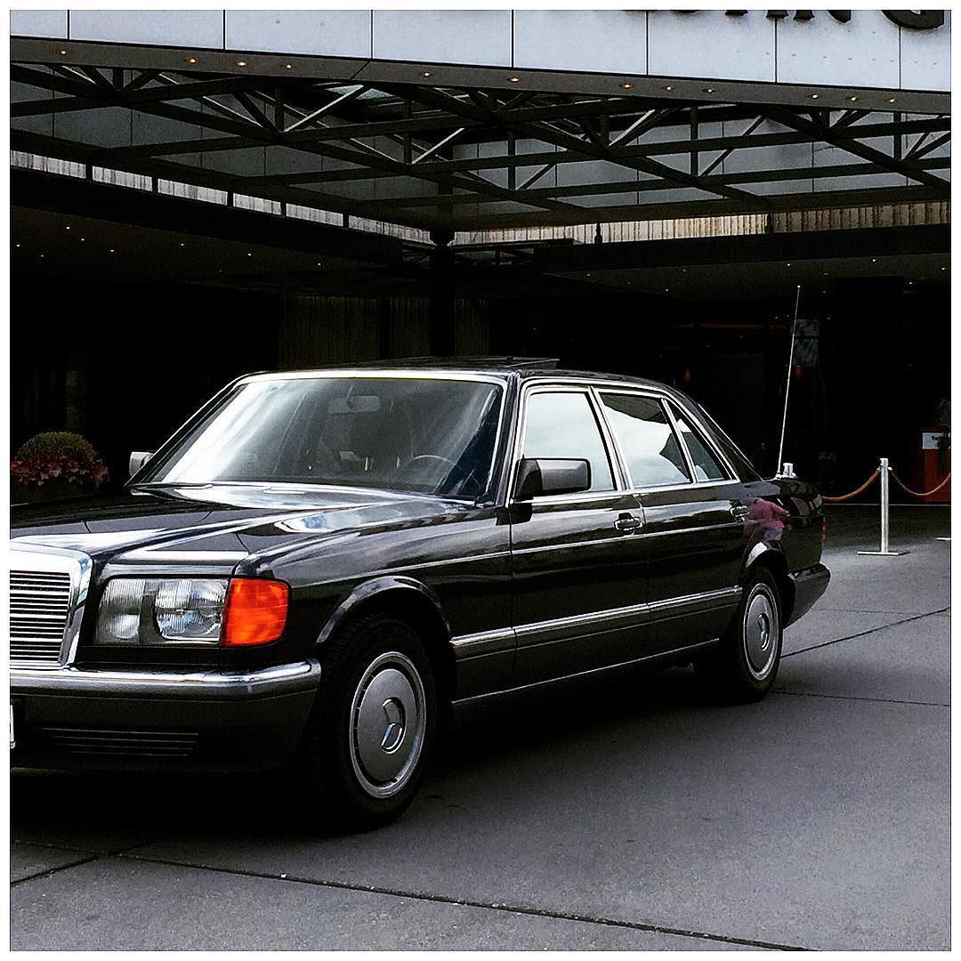 Mercedesbenz Sel Mercedes Benz Skle W126 Schwarz Black