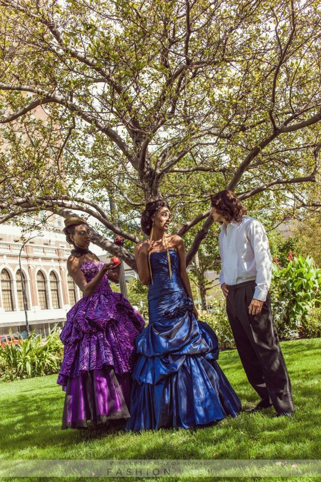 Modern day fairy tale photo shoot #MBBFW