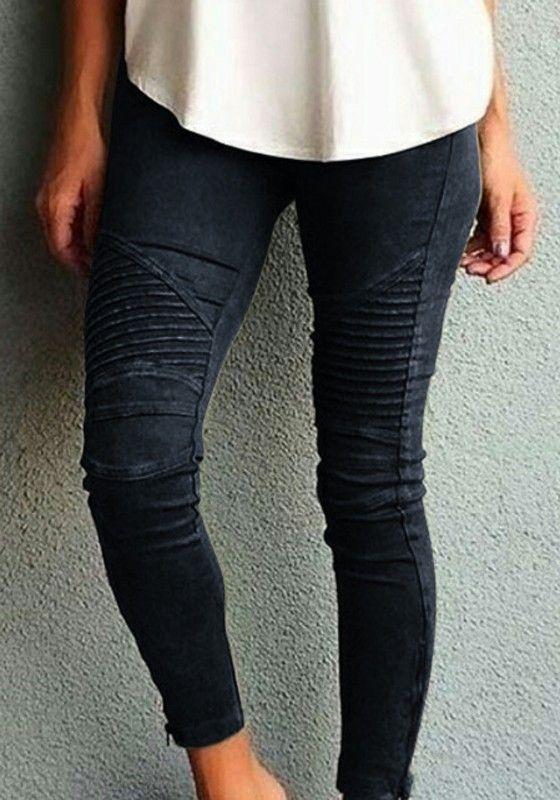 Broeken Leggings Ladies Elasticated Waist Stretchy Long Jeans Pant Womens Plain Leggings Jeggings Sport En Vakantie Woocommerce Ir