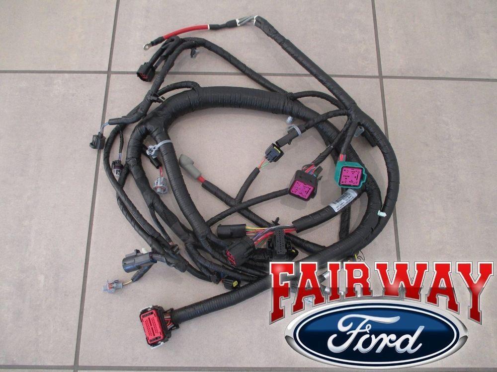 03 04 Super Duty Oem Ford Engine Wiring Harness 6 0l 1 30 03 Thru 9 29 03 Build Engineering Ford Car Engine