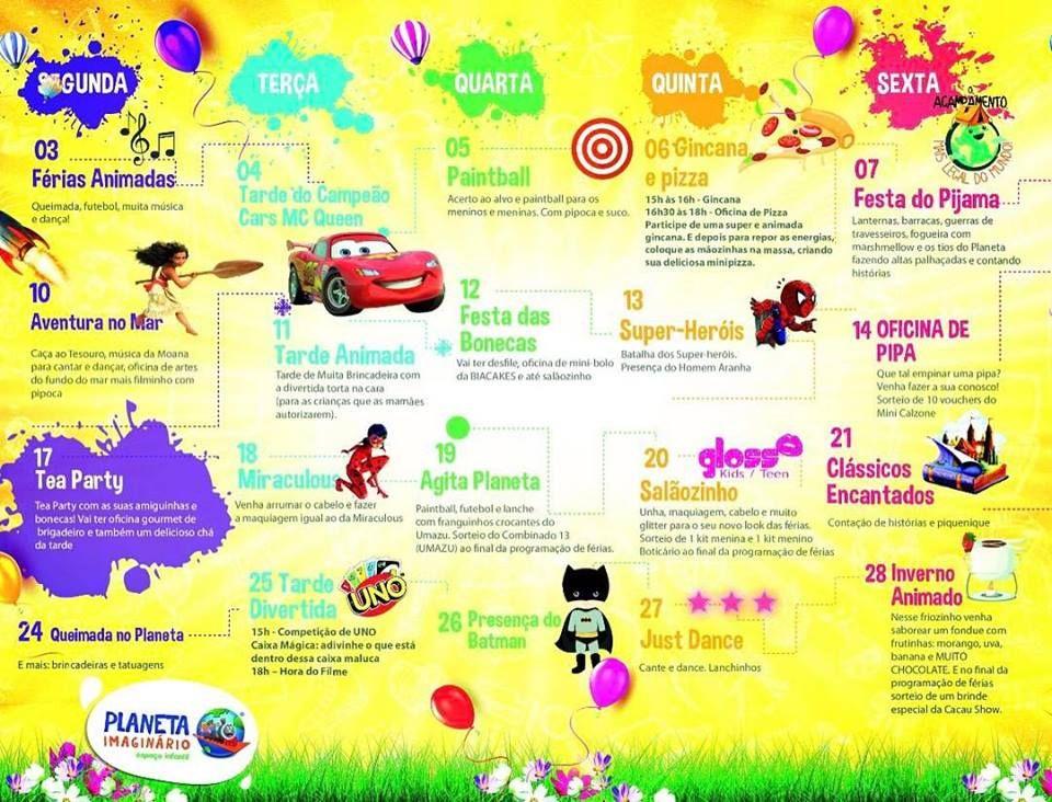 Ferias Em Brasilia Com Criancas Julho De 2017 Com Imagens