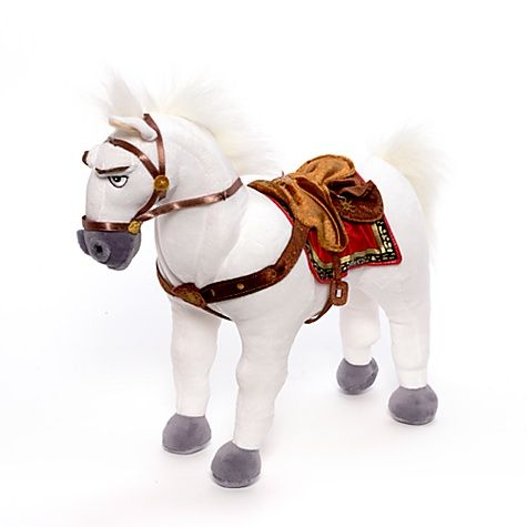 Peluche du cheval maximus raiponce disney store disney plush horse plush dolls y toys - Cheval de raiponce ...