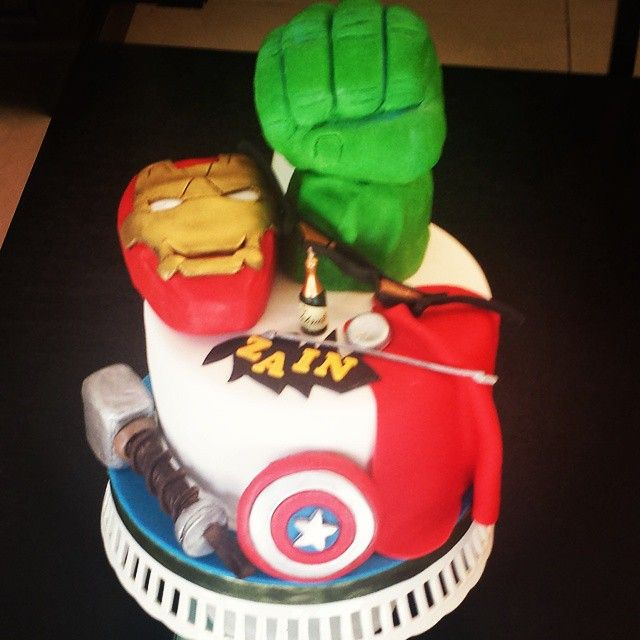 happy birthday to our son Zain First attempt at a themed cake