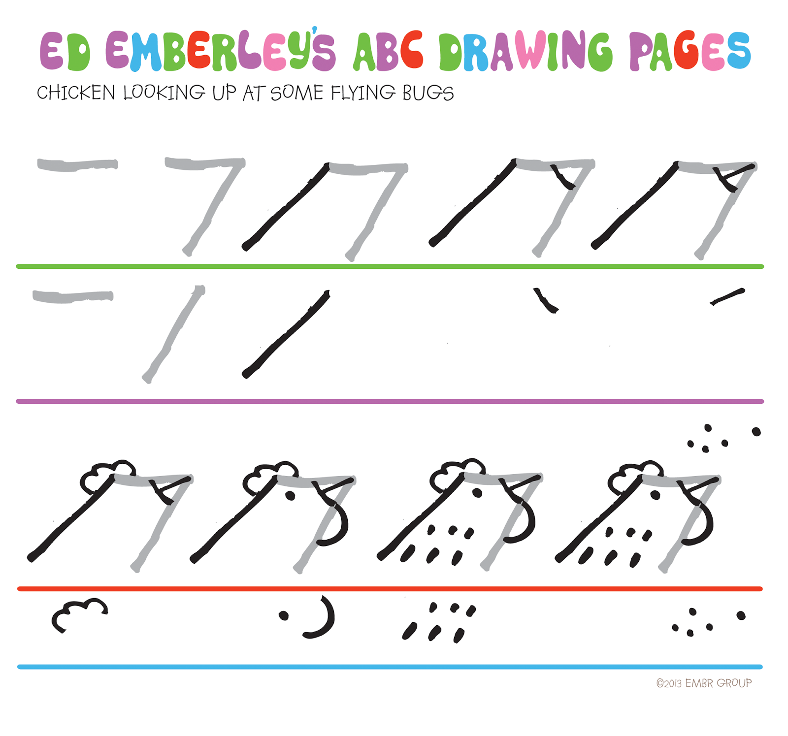 Ed Emberley S Drawing Pages
