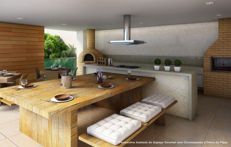 Area gourmet pequena rustica pesquisa google cozinha for Mesas rusticas grandes