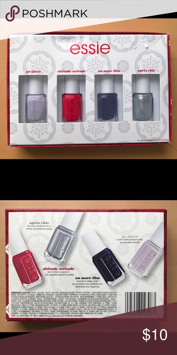 BUNDLE ONLY NWT Essie Set 💅 | Essie nail polish, Attitude and Makeup