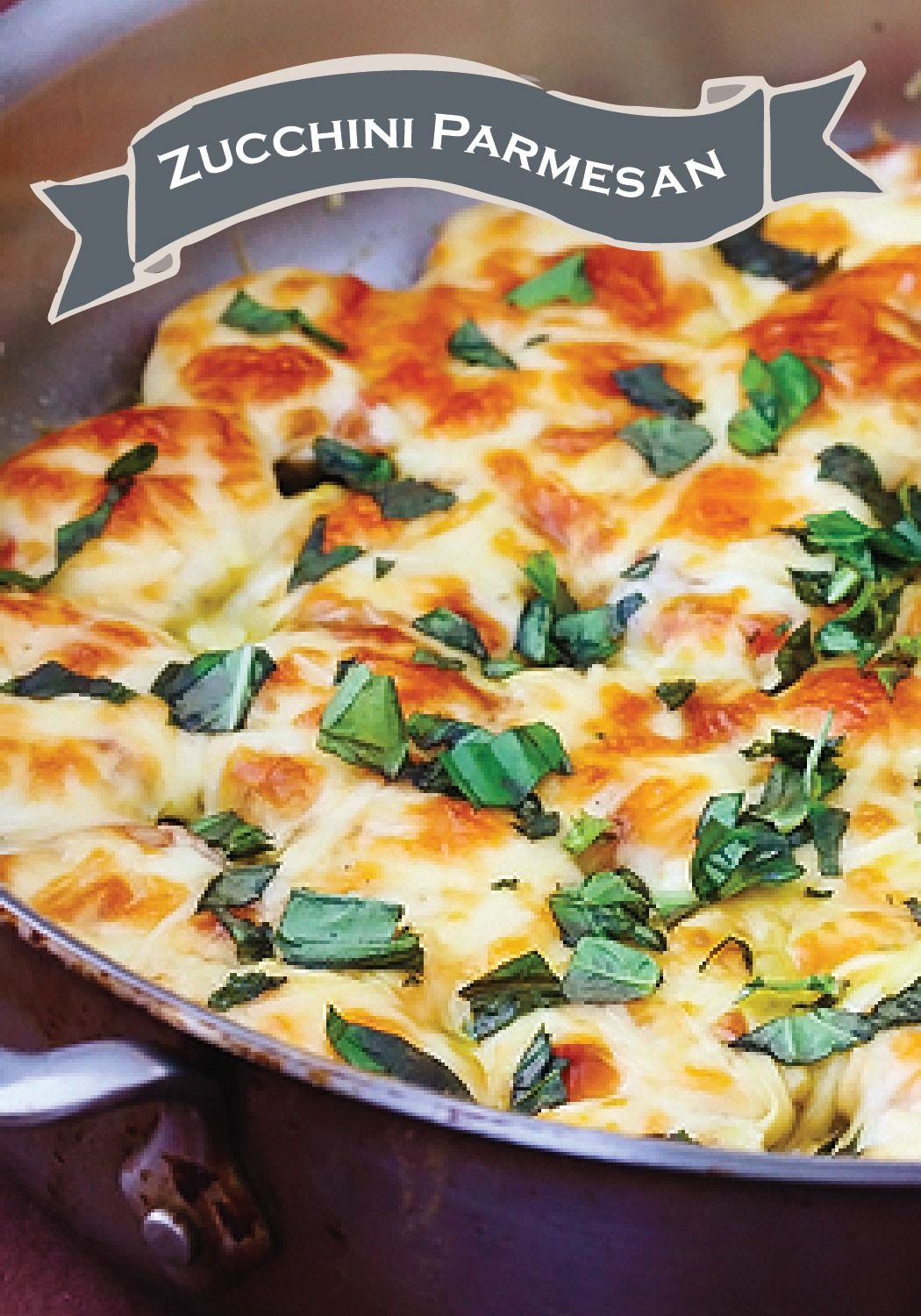 Make this hearty Zucchini Parmesan recipe for your next family dinner!