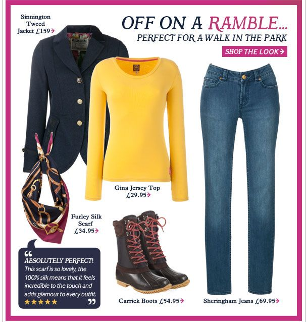 Joules outfit