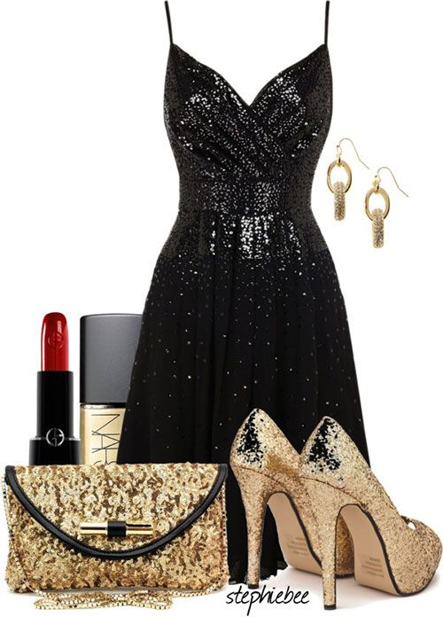 52d7a2fd23d6 32 Flattering New Year's Eve Polyvore outfit ideas 2016 For Women - Fashion  Craze