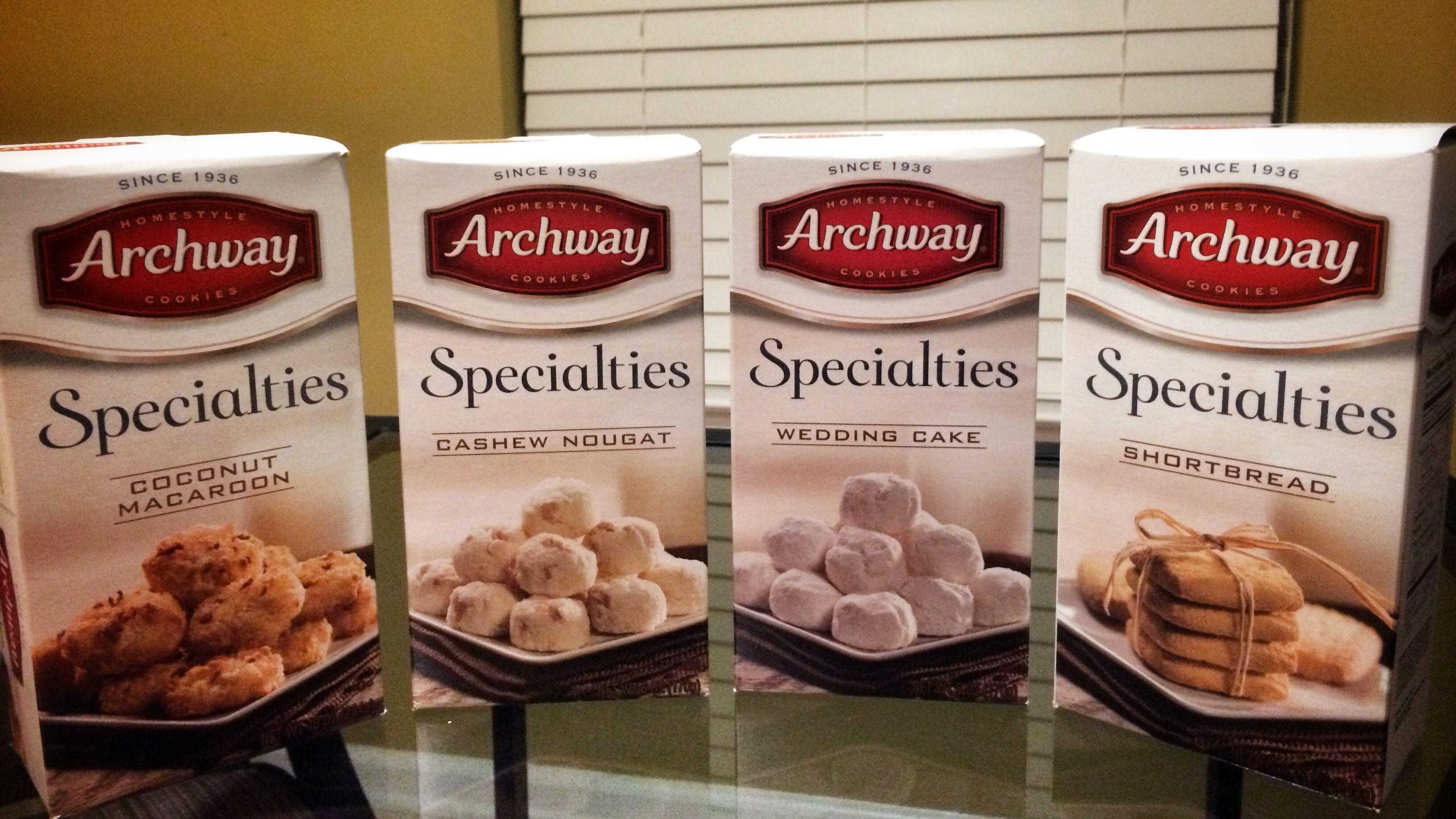Archway Specialties Wedding Cake Cookies
