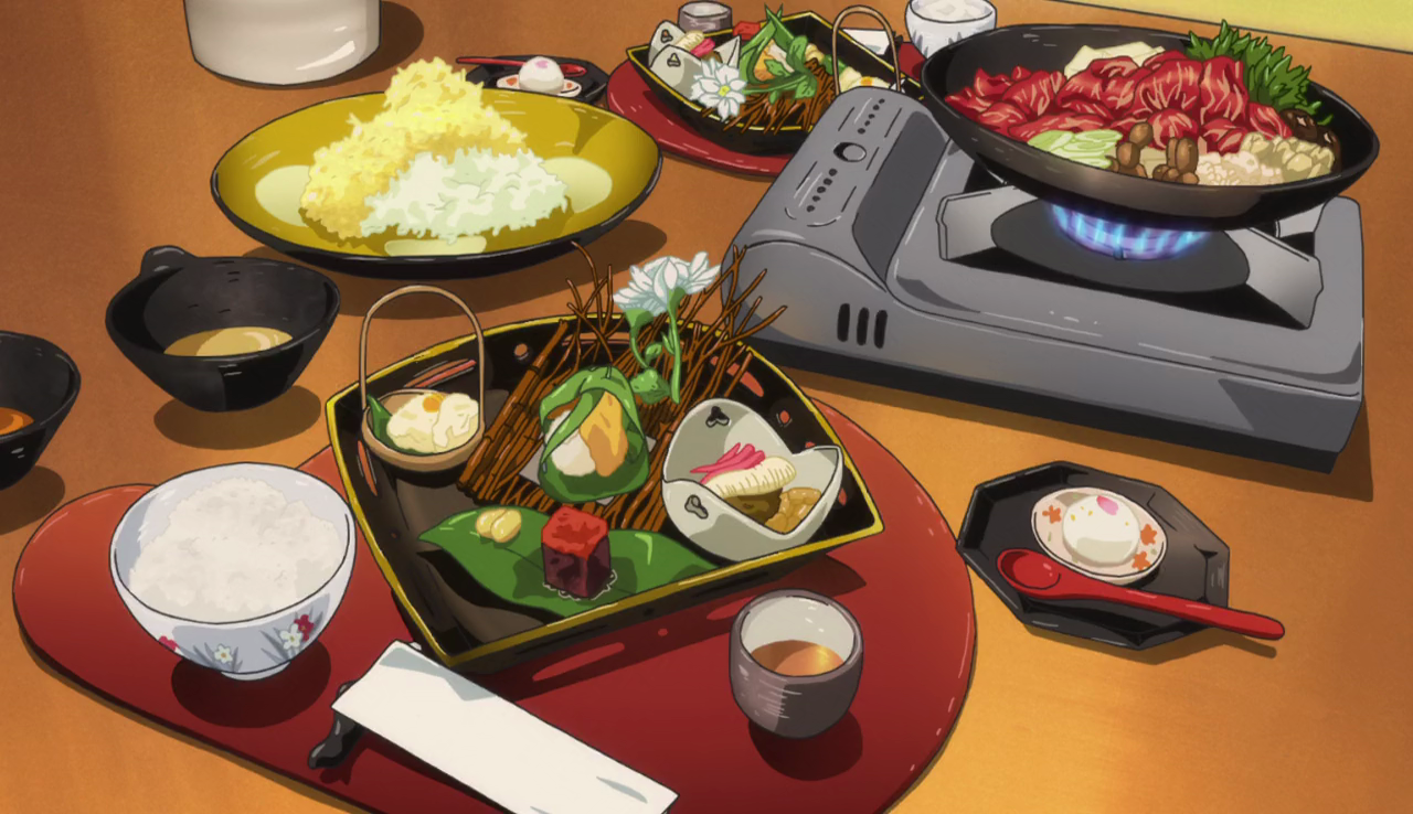 Aesthetic Anime Food Video