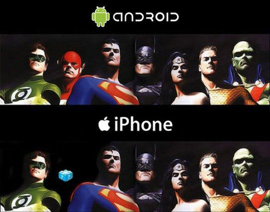 android vs IOS....where is Flash?