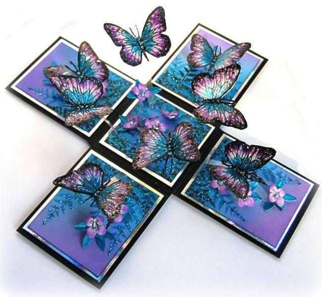 magic boxes  Самодельные открытки Карты ручной работы