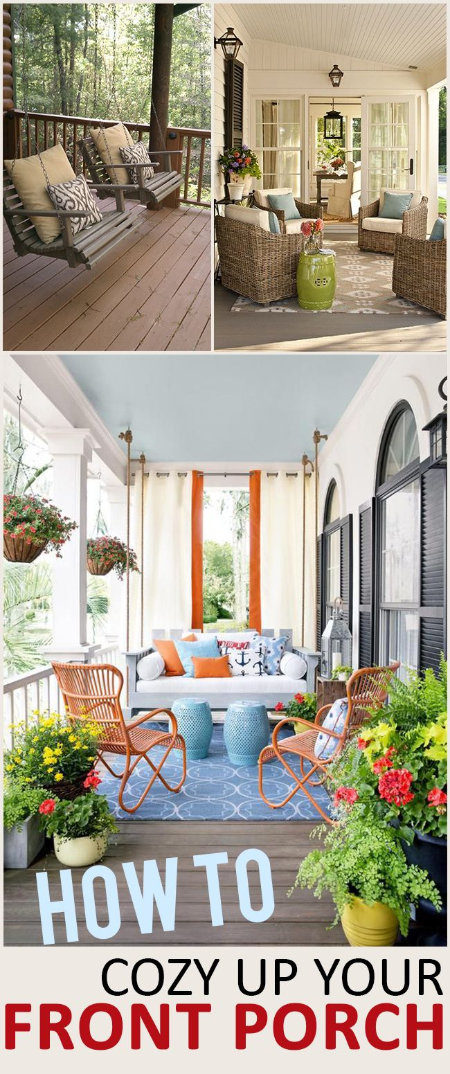How To Cozy Up Your Front Porch Decoración Kame House