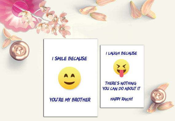 picture about Rakhi Cards Printable titled Amusing Rakhi Card Raksha Bandhan Card through Firstblushdesignco