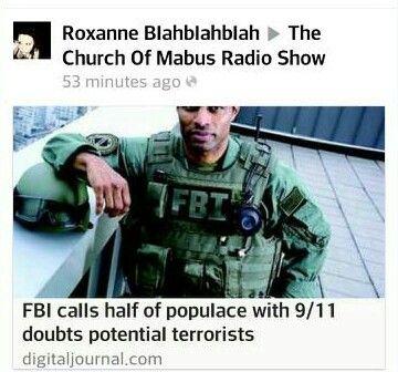 FBI: Half of 9/11 conspiracy theorists may be terrorists?