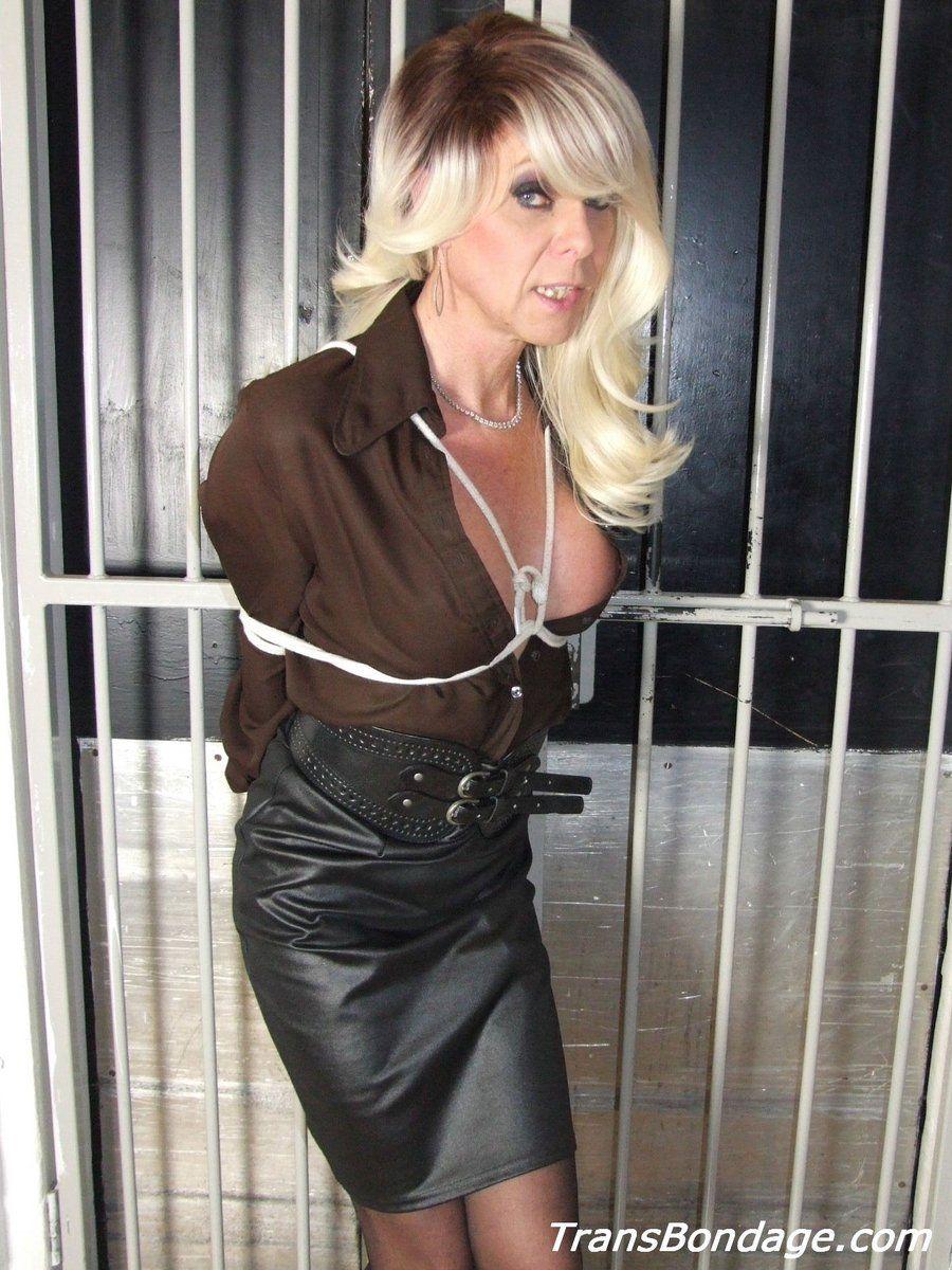 Leather joanna mistress jet