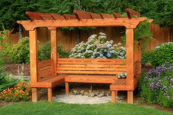 45 Pomyslow Na Projektowanie Lawek Ogrodowych I Zestawow Diy Ktore Mozesz Zbudowac W Weekend Diy Pergola Pergola Patio Garden Seating