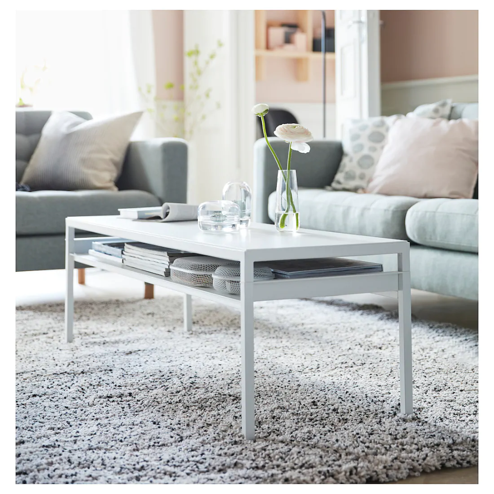 NYBODA Coffee table w reversible table top white/gray