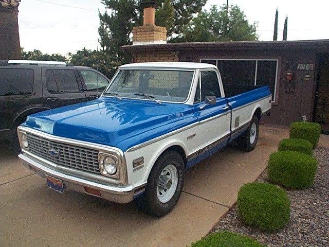 1972 Chevrolet Cheyenne C20 My Grandma Old Truck My Faves