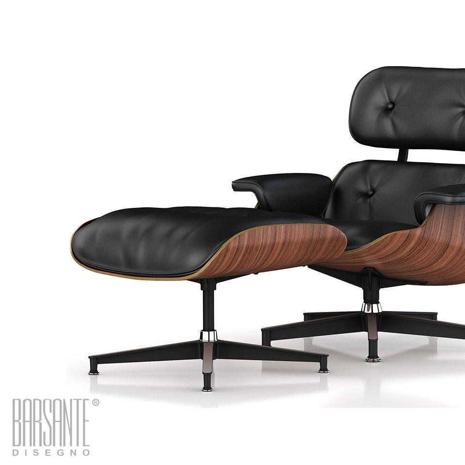 sillón Eames con otomana. Barsante Disegno® www.barsantedisegno.com ...