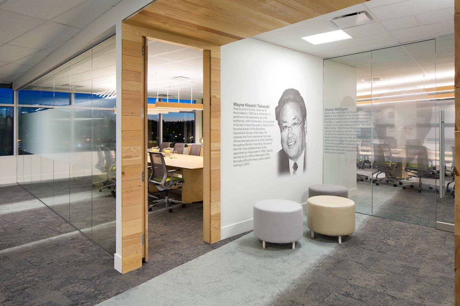 Office Tour Golder Associates Offices Vancouver Office Design