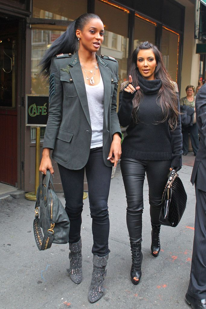 Casual Work Olive Military Blazer Grey T Shirt Black Pants Jeans Grey Boots Black Sweater Leather Pants Open Toe Booties