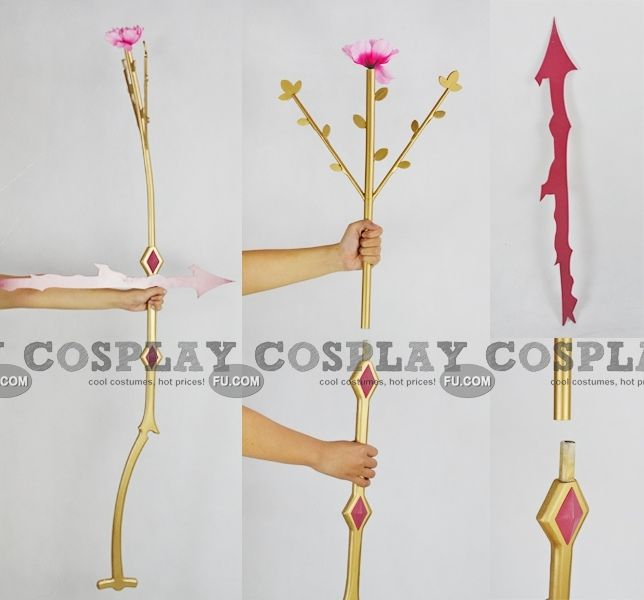 Kaname Bow And Arrow Flower From Puella Magi Madoka Magica