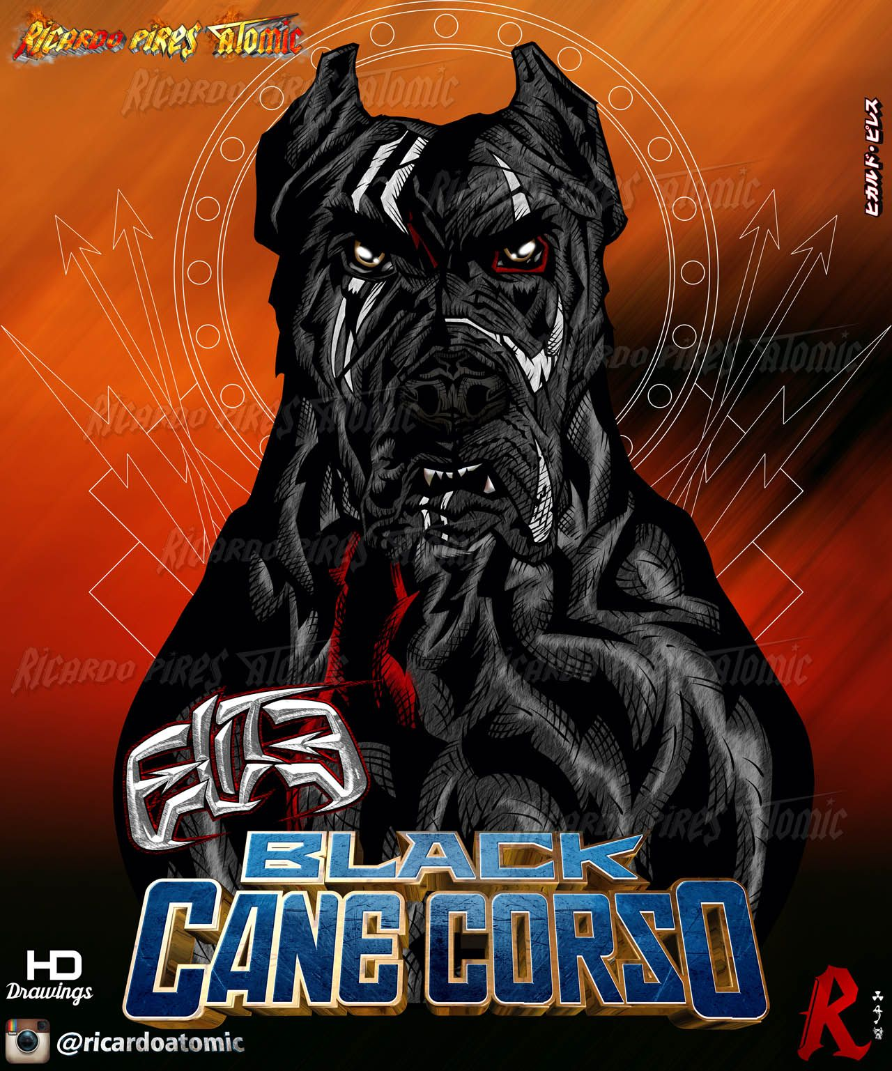 Black cane corso color new cane corso drawings creations by ricardo black cane corso color new cane corso drawings creations by ricardo pires ricardoatomic orders designs geenschuldenfo Images