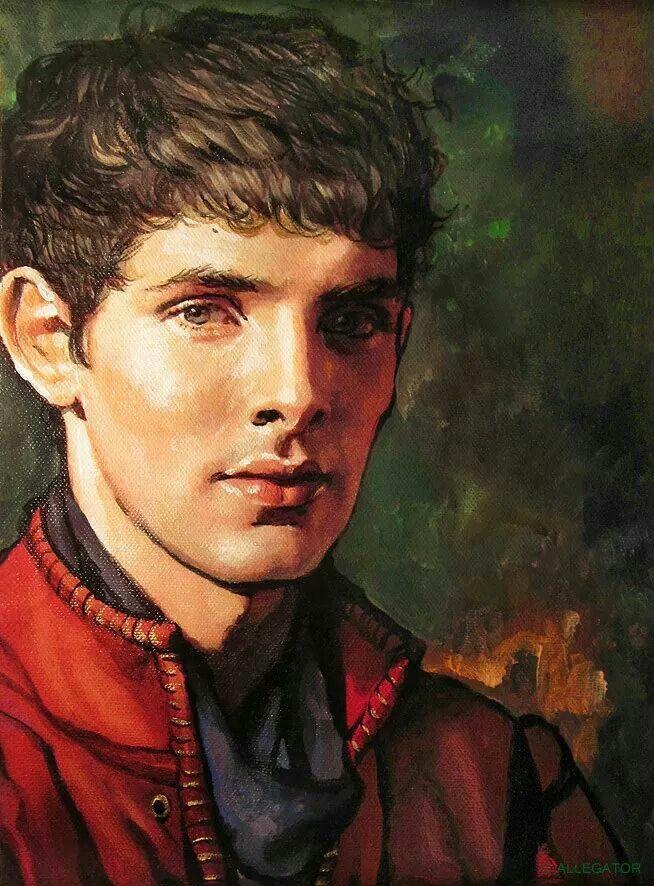 More lovely Merlin fanart