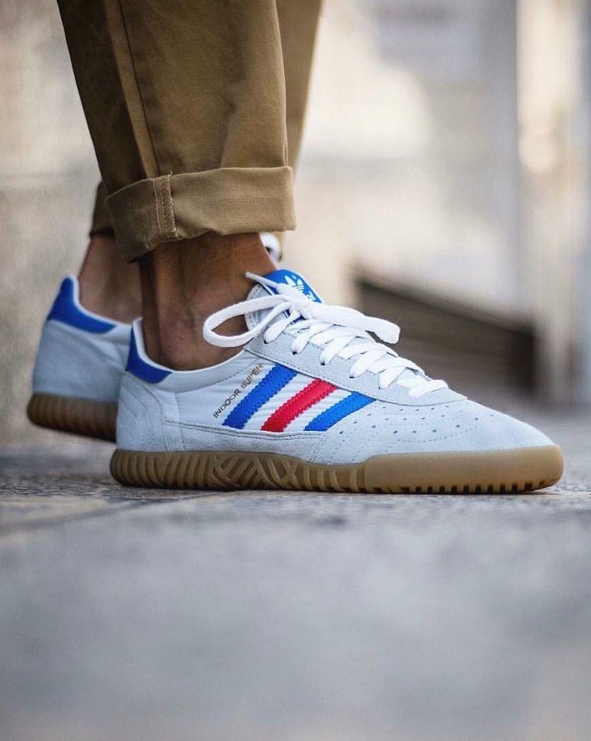 nike free Adidas Indoor Super SPZL Männer Schuhe für Weiß