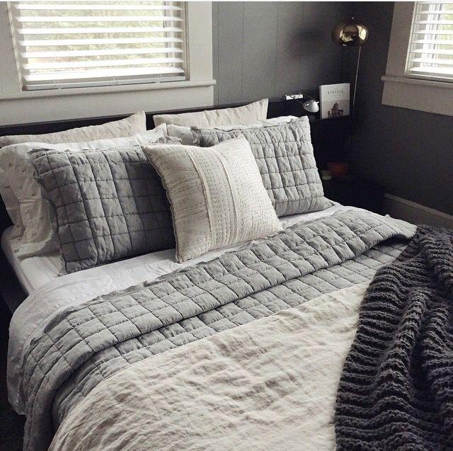 Bedroom Inspiration Love This Belgian Linen Bedding From