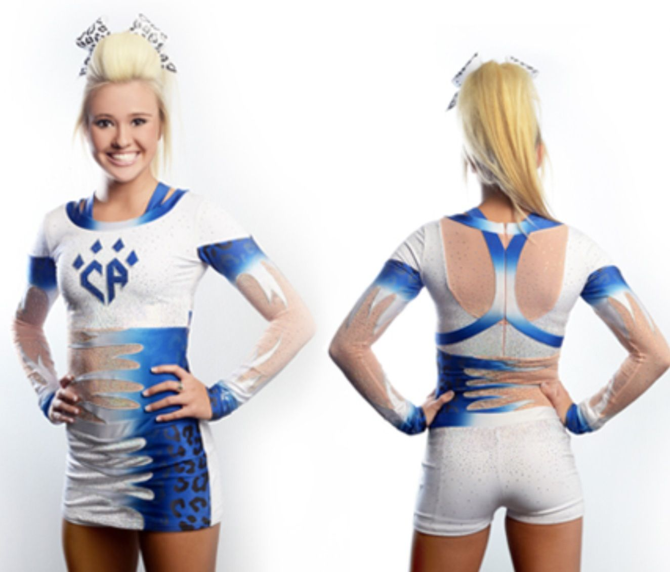 Jamie Andries in Cheer Athletics Cheetahs' new uniform ...