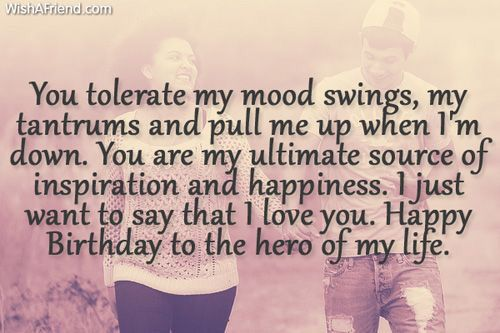 Hpie 123 With Images Happy Birthday Boyfriend Quotes Birthday