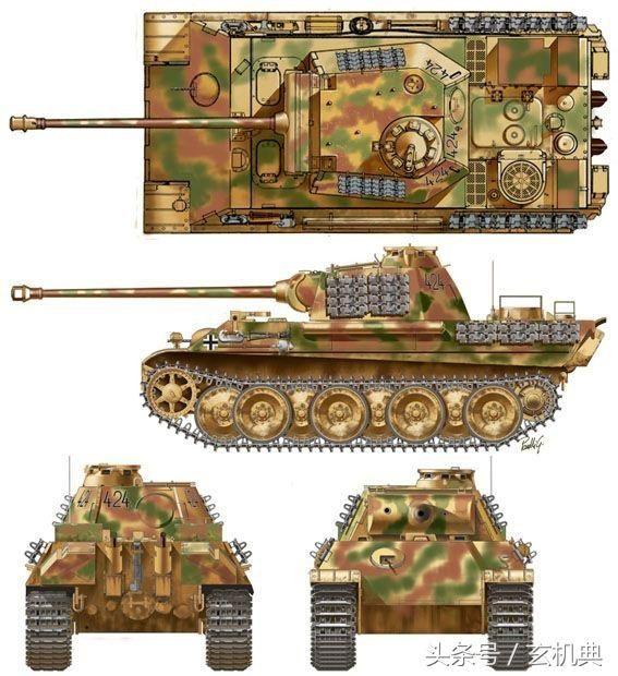 二戰陸戰之王們-之-德國坦克裝甲戰車大數據 第1彈 - 每日頭條