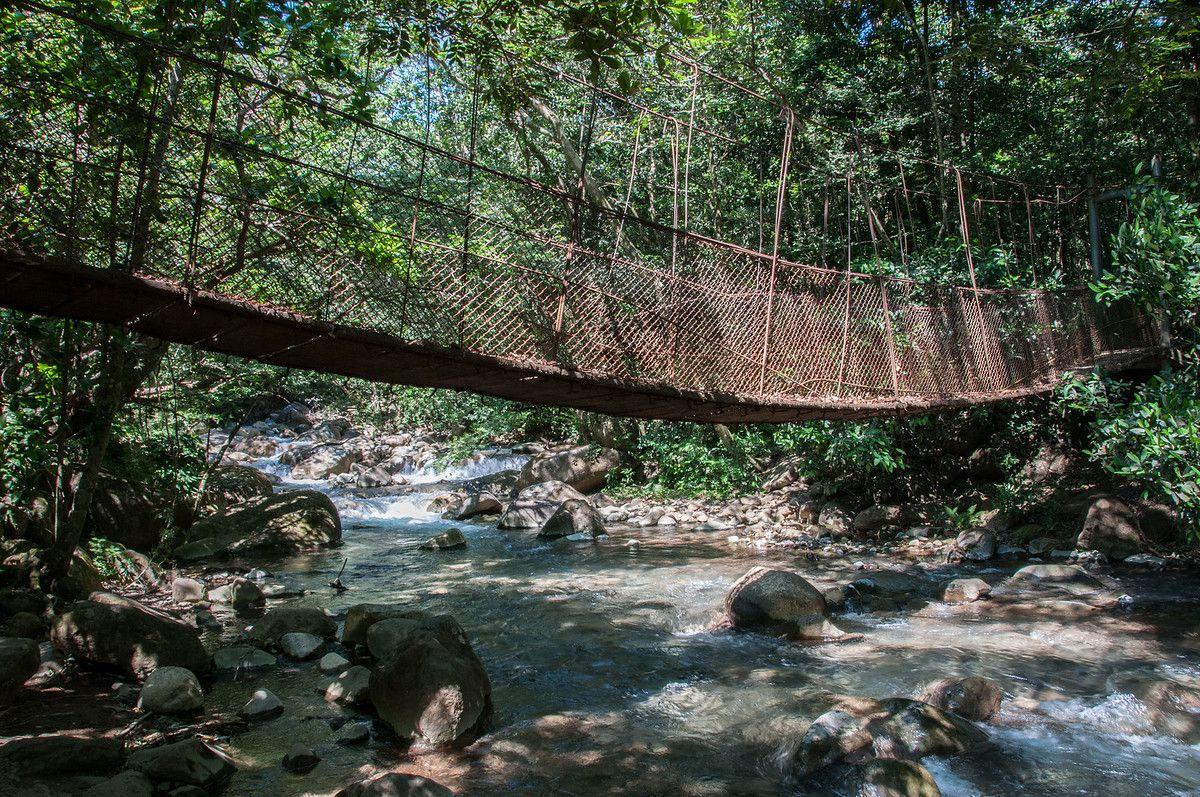 A Suspension Bridge in Rincon Volcano National Park, #CostaRica — #Travel via @everywheretrip