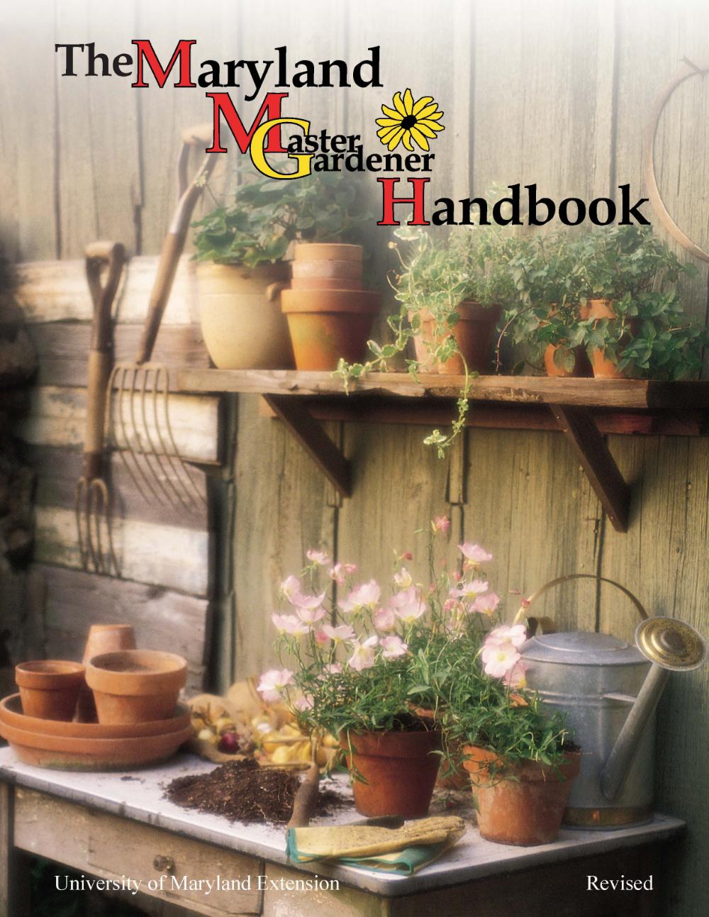 2b4b0d4171e12bbb26a39d313ee25033 - University Of Maryland Master Gardener Handbook