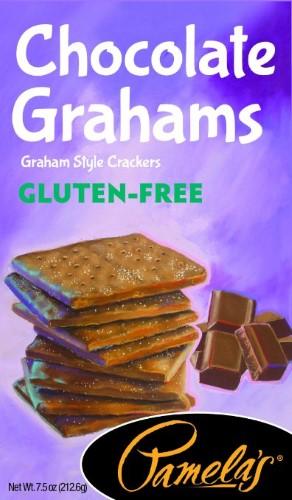 Pamela S Chocolate Grahams Gluten Free 7 5 Ounce Gluten Free