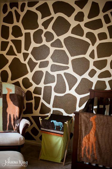 Giraffe Wall Giraffe Room Giraffe Bedroom Giraffe Decor