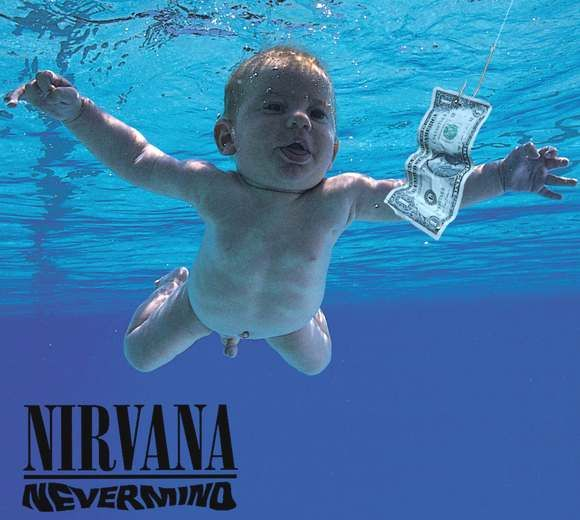 Image result for nevermind album cover