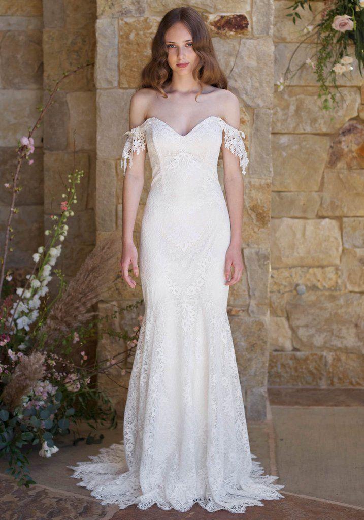 Claire Pettibone Romantique Bordeaux Lace Gown | robe de mariee ...