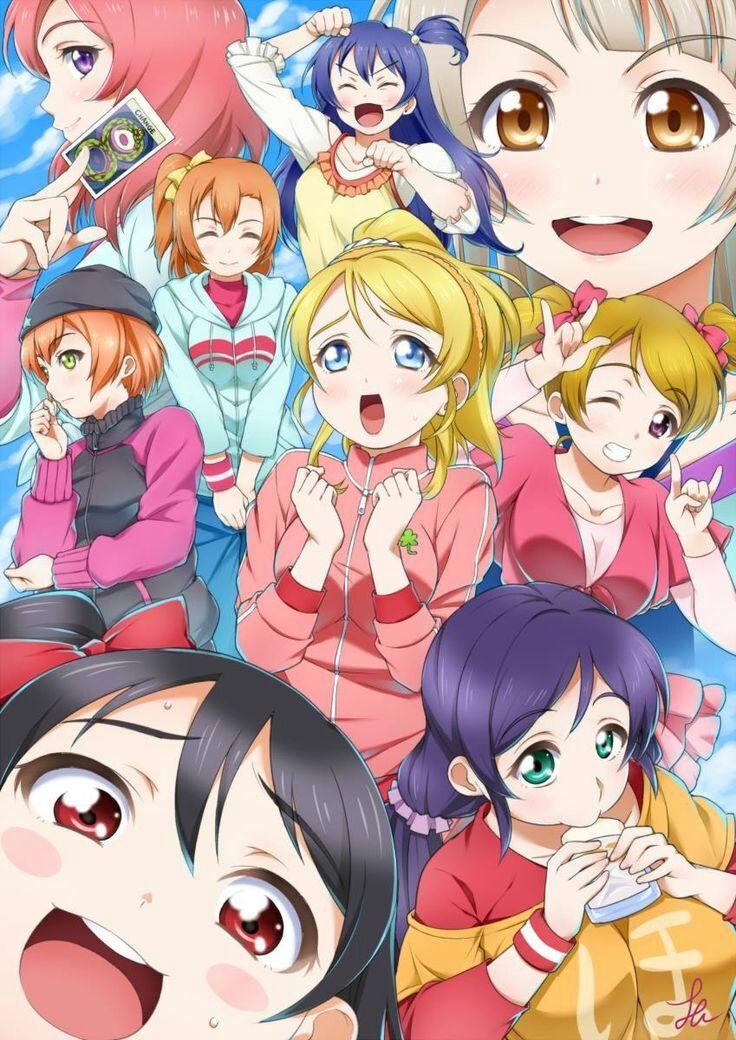 the funniest scene in school idol project season2 episode 6 | All
