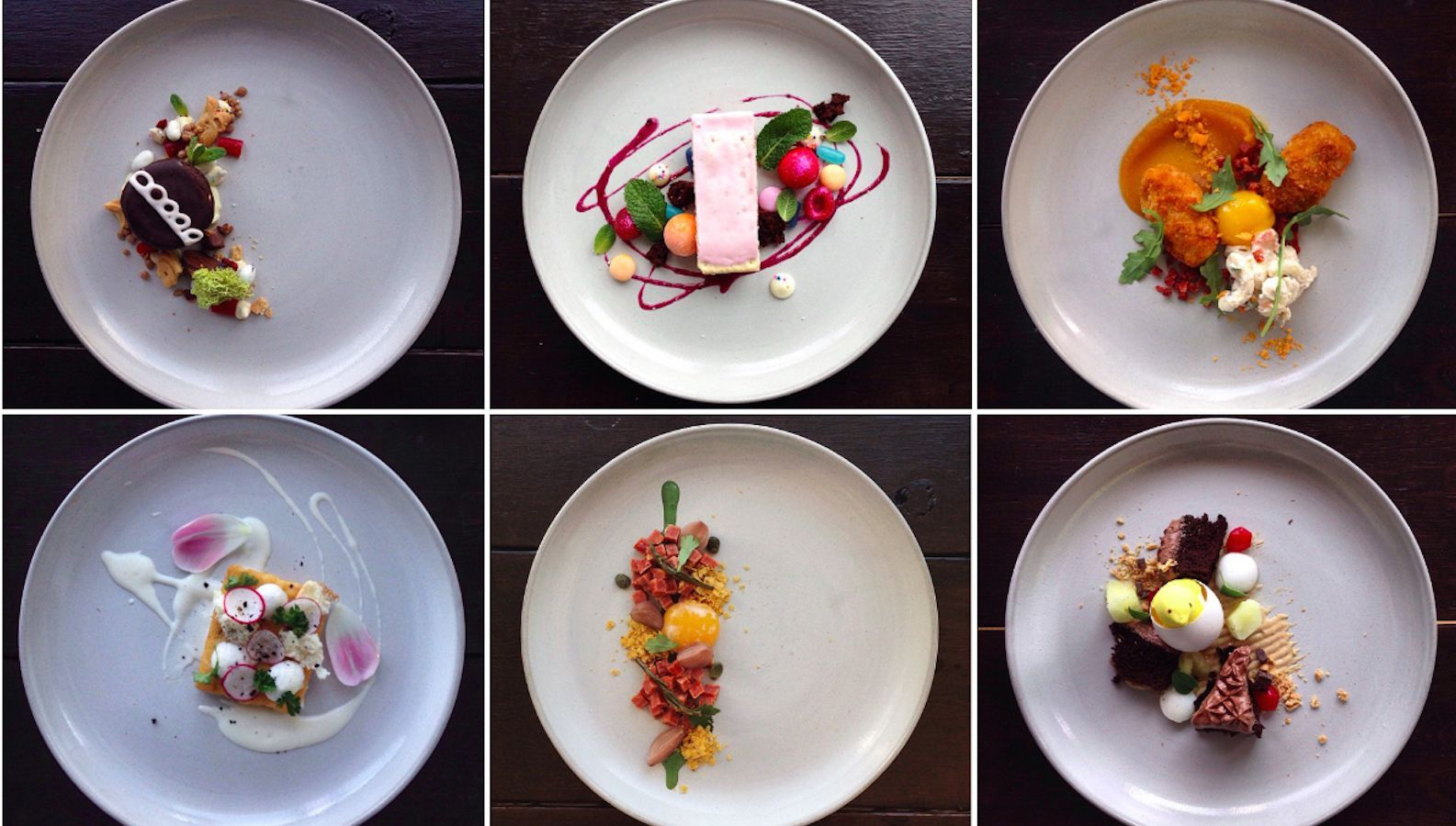 Photos: Instagram chef parodies Michelin-style plating with junk food  masterpieces