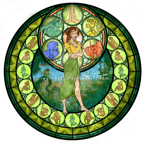 I'm really proud of this one. I finally found a way to get the stained glass texture like you see in the original windows from the game. I also did really minimal tweeking from my first attempt. I ...